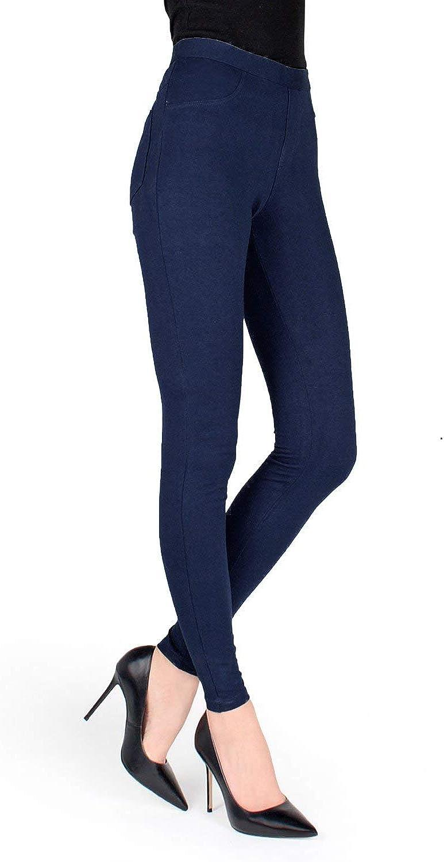 MeMoi Cotton-Blend Leggings
