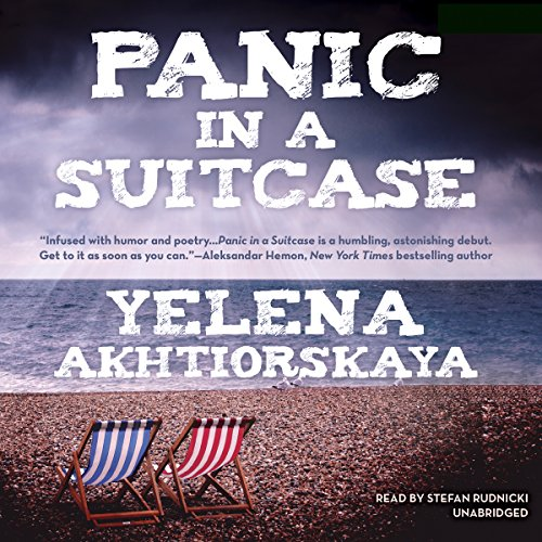 Panic in a Suitcase audiobook cover art