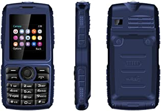 Peedeu Basic Phone Unlocked,2G T-Mobile,GSM Mobile Phone,Easy to Use Cell Phone,Dual SIM Dual Standly (Blue)