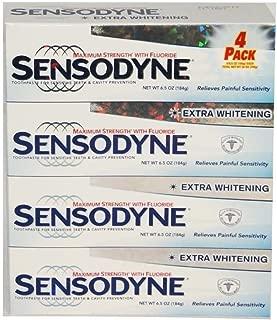 Sensodyne® Extra Whitening Toothpaste 4pk 6.5 Oz Each.