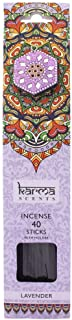Karma Scents Incense Sticks and Holder - Lavender