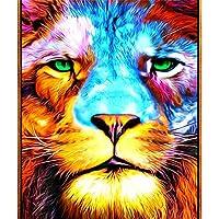 木製ジグソーパズル1500ピースカラフルなライオン減圧パズル教育ギフト、大人のための家族向けゲーム挑戦的なおもちゃ子供ティーン87X57cm
