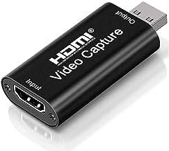 Tarjeta de captura de video en vivo USB2.0 HD 1080P Grabación de video compatible con múltiples sistemas, Dispositivo de c...