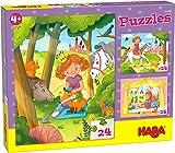 HABA-305916 Puzzles Princesa Valeria Puzle Infantil, Multicolor (305916)