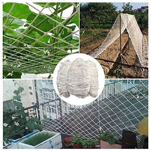 Safe Net Balcony Stair Protection Anti-fall Net Trellis Netting For Grow Tents Windows/plants Garden Mesh Netting Heavy Duty Patio Nets For Pets Nylon Mesh Net Decoration Nautical White 6mm/5cm