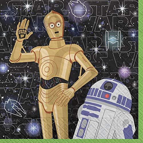 Disney Star Wars Galaxy Beverage Napkins - 16