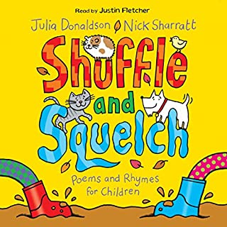 Shuffle and Squelch audiobook cover art