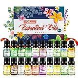Ätherische Öle Set für Aroma Diffuser,100% Pure Naturrein Ätherisches Öl,Aromatherapie Duftöl...