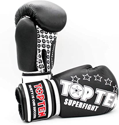 TopTen Boxhandschuhe Superfight schwarz schwarz schwarz B07JXZ6R3N     | Elegante Und Stabile Verpackung  08e0ff