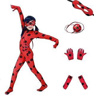 أزياء Da Mai للهالوين للأطفال على شكل خنفساء مضحكة (جناح 5 قطع)
