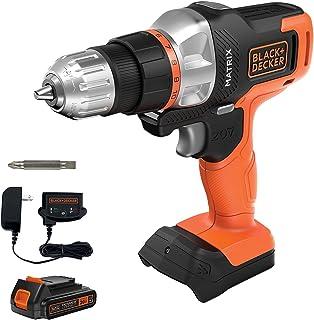 Destornillador/perforadora Black & Decker 20 V MAX con 1 baterías de litio