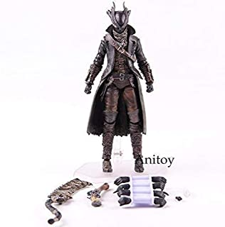 LLJJ Anime Toy Max Factory Figma 367 Bloodborne Hunter Figures of Games PVC Figma Action Figure Collection Modèle Toy-15cm