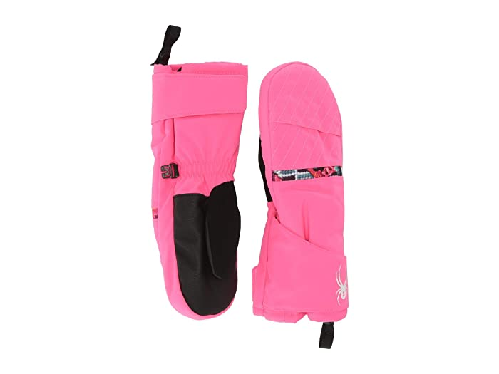 Bitsy Cubby (Toddler) (Bryte Bubblegum) Extreme Cold Weather Gloves