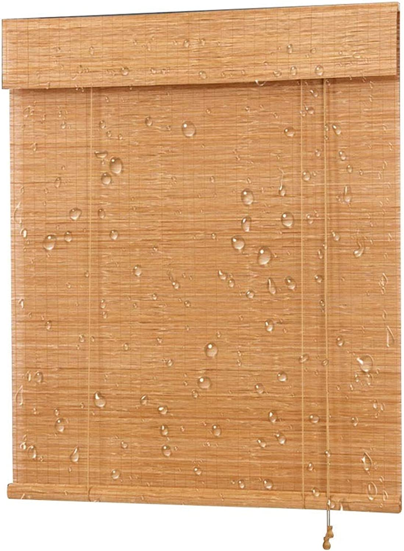 primera reputación de los clientes primero CHAXIA Persiana De Bambú Enrollable Impermeable Barniz Barniz Barniz Bambú Fino Balcón ático Cortina Colgante, Multi-tamao, Personalizable (Color   A, Tamao   60x180cm)  precios bajos
