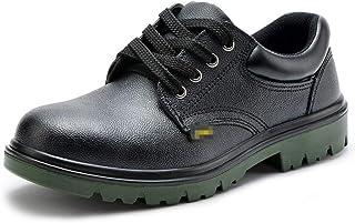 SHANLEE Men's Labor Insurance Shoes Men's Non-Slip Work Shoes Breathable Non-Slip Shoes
