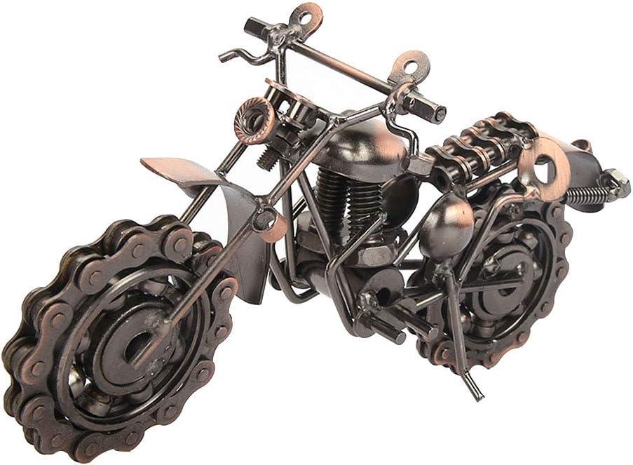 Alinory Nippon regular agency low-pricing Bronze Motorcycle Model Decor Durab Desktop