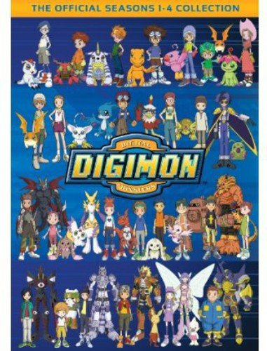 Digimon: The Official Seasons 1-4 Collection