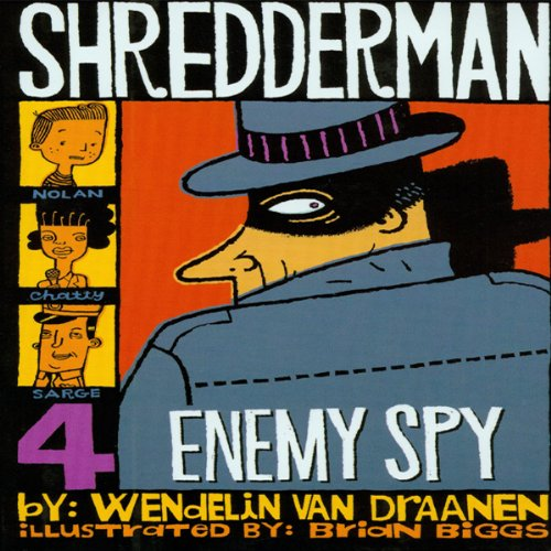 Shredderman cover art