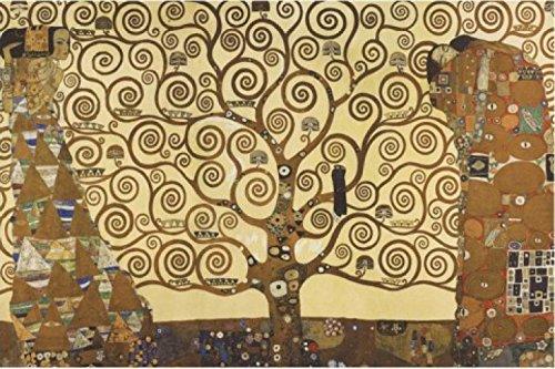 1Art1, 48106, Poster, Motivo: Gustav Klimt - L'Albero Della Vita, 91 X 61 Cm