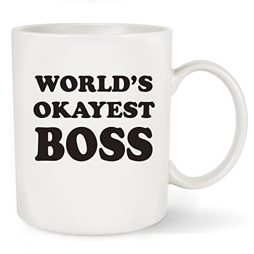 Boss Gifts Worlds Okayest