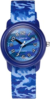 Hemobllo Kids Quartz Watch - Waterproof Wrist Watch with Camouflage Watch Band Cute Cartoon Printing Watch for Kids Children Boys Girls
