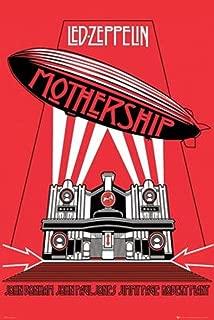 Pyramid America Led Zeppelin Mothership Music Cool Wall Decor Art Print Poster 24x36