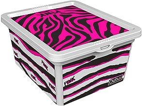 QUTU TrendBox Tear Storage Box - White, H 37 cm x W 17.5 cm x D 52.5 cm