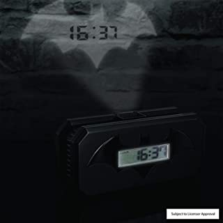Abysse Corp GIFPAL178 Digital Alarm Clock Negro, Color Blanco - Despertador (LED, AAA, Negro, Color Blanco)