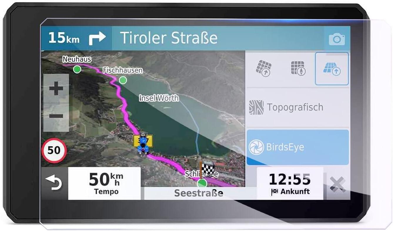 GAFAT G*armin zumo XT - Protector de pantalla de cristal blindado para navegador GPS, 5,5 pulgadas, 139 x 83 mm