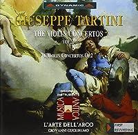 タルティーニ:ヴァイオリン協奏曲集 2 (グリエルモ/ラツァリ/ラルテ・デラルコ)