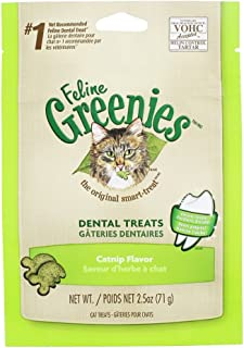 Greenies Feline 2.5oz Value 3pks. (Catnip)
