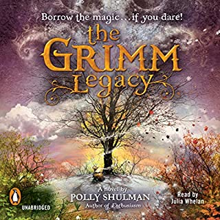 The Grimm Legacy audiobook cover art