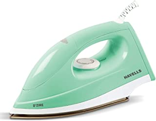 Havells D'zire 1000-Watt Dry Iron (Mint)