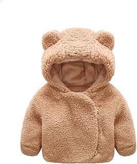 Jchen(TM) Baby Infant Girls Boys Autumn Winter Hooded Thick Warm Coat Cloak Jacket for 0-24 Months