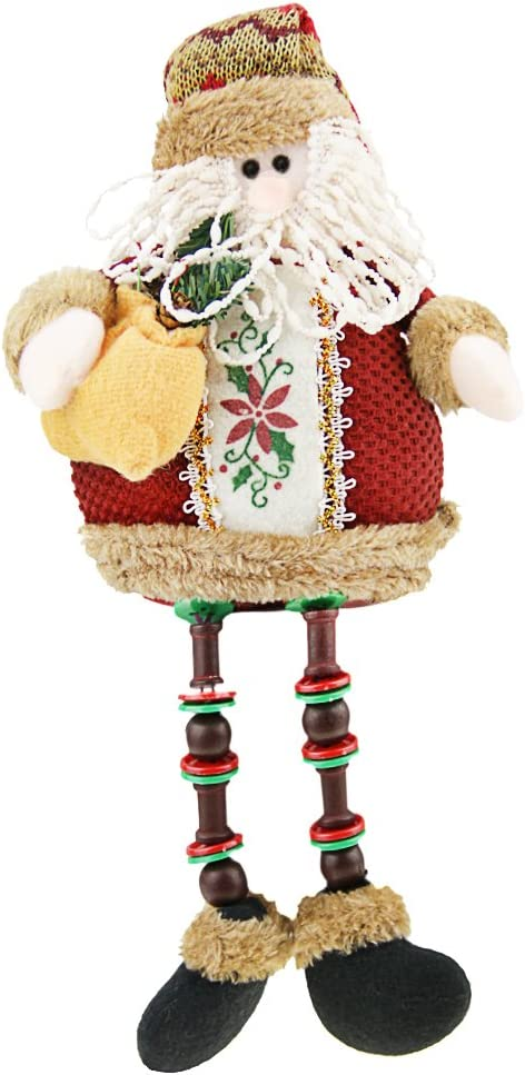 Christmas Plush Sitting Posture Toys Figurines Dolls Brand new Outstanding Collectible