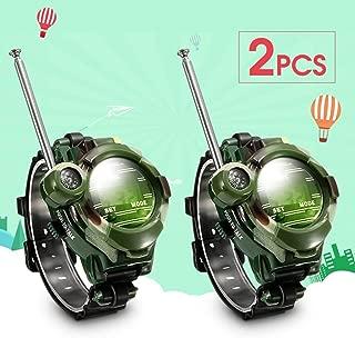 Xiangjin Wrist Watches,2Pcs 7 in 1 Kids Children Toys Girls Boys Watches Interphone Outdoor Games Toys 26x4x6cm