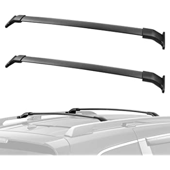 Amazon Com Auxmart Roof Rack Corss Bars Oe Style Crossbars Fit For 2011 2017 Honda Odyssey Aluminum Luggage Cargo Carrier Rooftop Rail Racks System Replacement For Canoe Bike Kayak Automotive