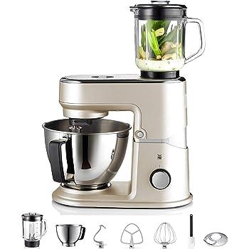 WMF Profi Plus Robot de cocina, 1000 W, 5 litros, Acero Inoxidable ...