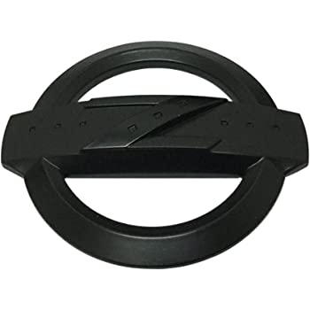 113MM Z BLACK Emblem Badge Stickers Decals with Strong 3M Includes instructions MEASURE Before Purchase Fitment Top Quality fit For MICRA 370Z 350Z etc AMDCO BLACK pack of 1
