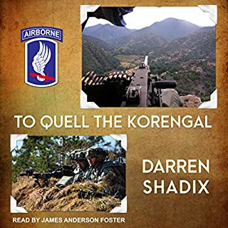 To Quell the Korengal audiobook cover art