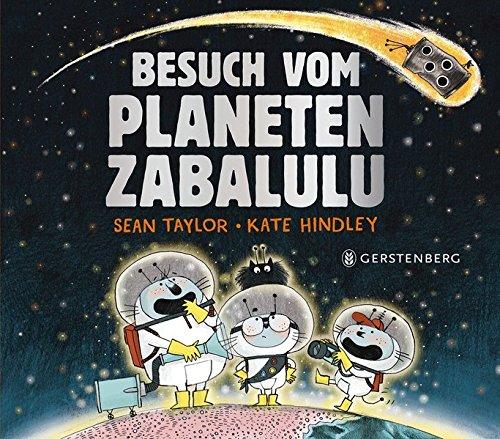 Besuch vom Planeten Zabalulu (Libro de cartón)