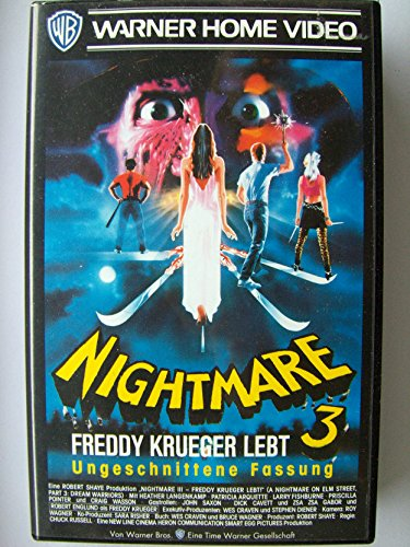 Nightmare on Elm Street 3: Freddy Krueger lebt [VHS]