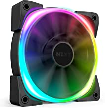 NZXT AER RGB 2-120mm - Advanced Lighting Customizations - Winglet Tips - Fluid Dynamic Bearing - LED RGB PWM Fan for Hue 2 - Single (HUE2 Lighting Controller Not Included)