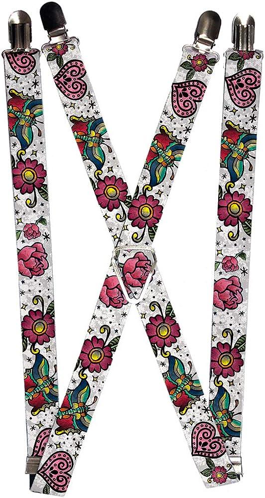 Buckle-Down Suspender - Love Kills Tattoo