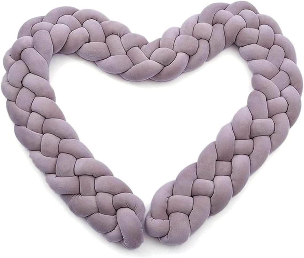 Fashionable JIU SI Cushion Crystal Velvet Pillow Braided Knot Lowest price challenge Soft Handmade