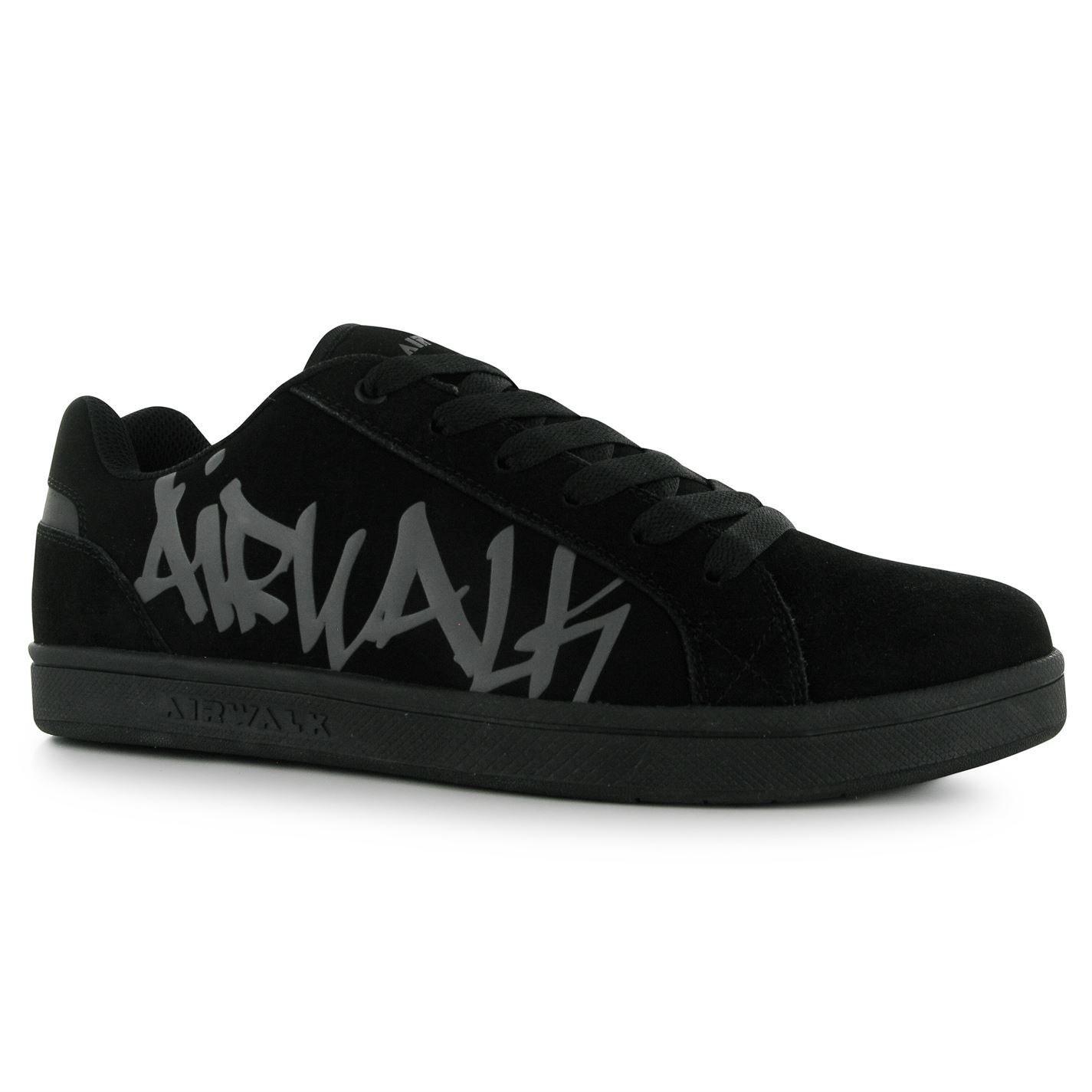 Airwalk Neptune Skate Shoes Mens Black