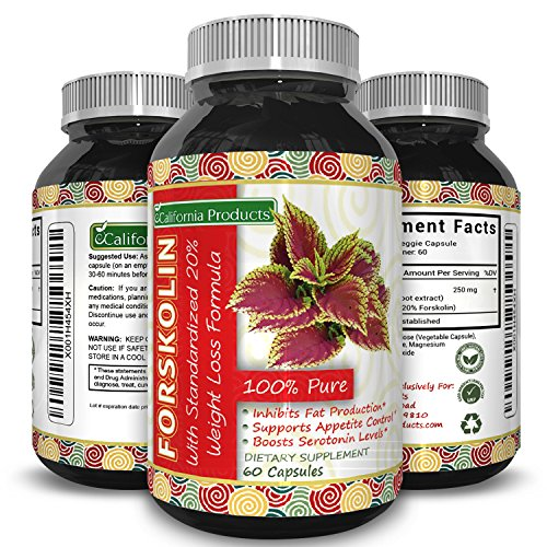 Huntington Lab's Forskolin Weight Loss Supplement for Men and Women, Burns Body Fat and Boosts...