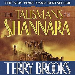 The Talismans of Shannara audiobook cover art