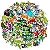 DSSK Creativo de Dibujos Animados Dinosaurio Pegatinas 50 Piezas Maleta refrigerador portátil Animal de Dibujos Animados Fiesta Infantil Pegatinas