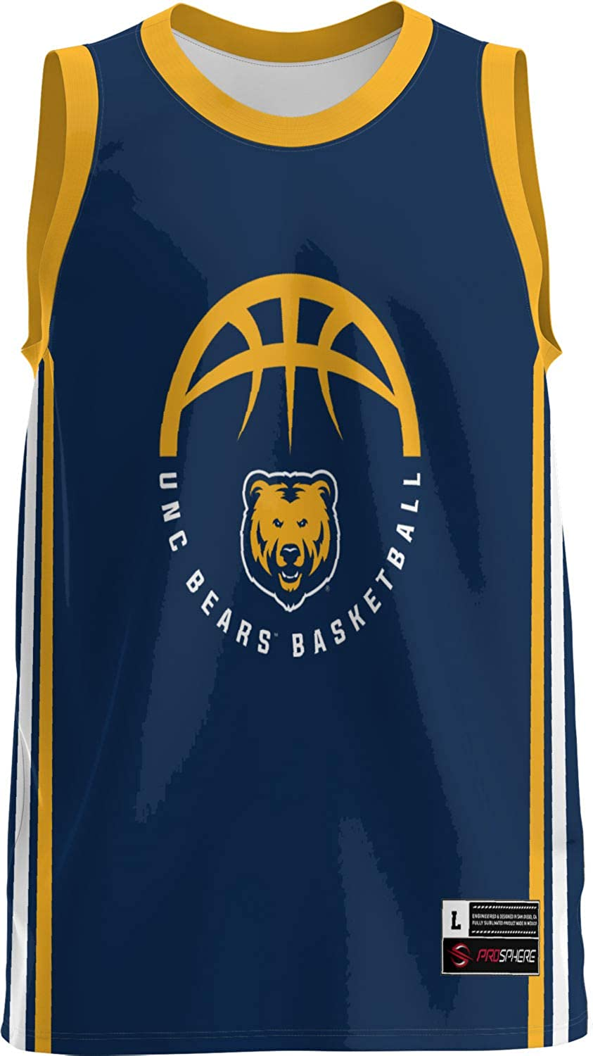University of Northern Colorado Basketball Jers Limited time Limited time sale trial price Men's